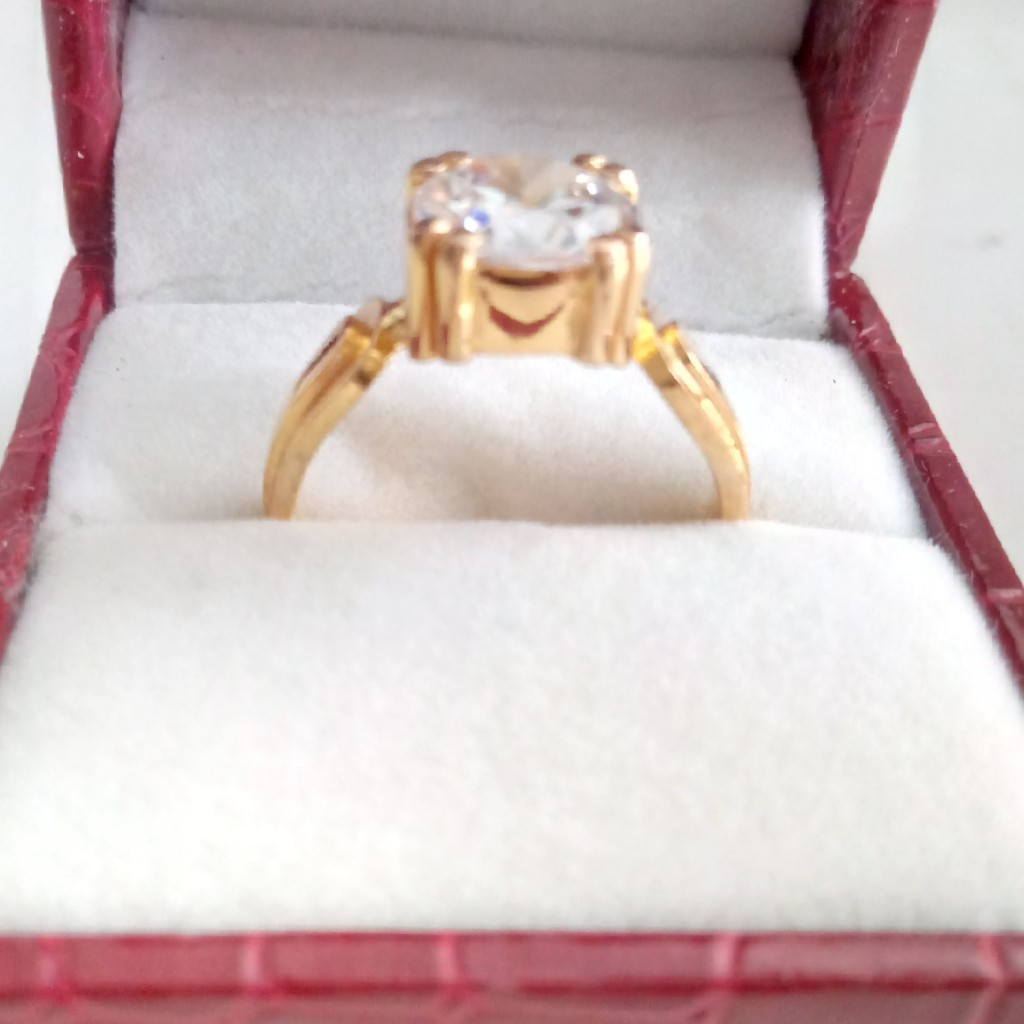 Solitaire Gents F. Ring,