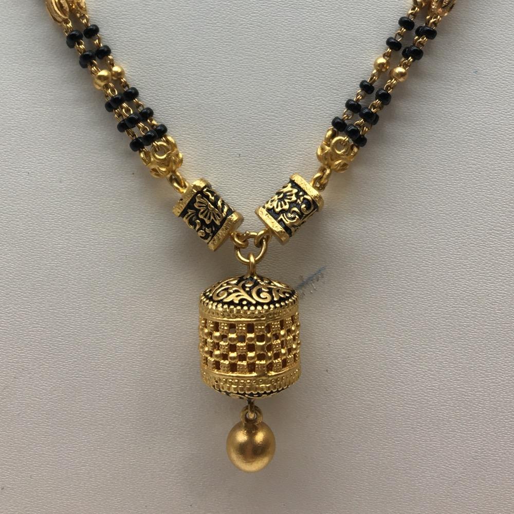 916gold antique wedding jewellery mangalsutra dokia