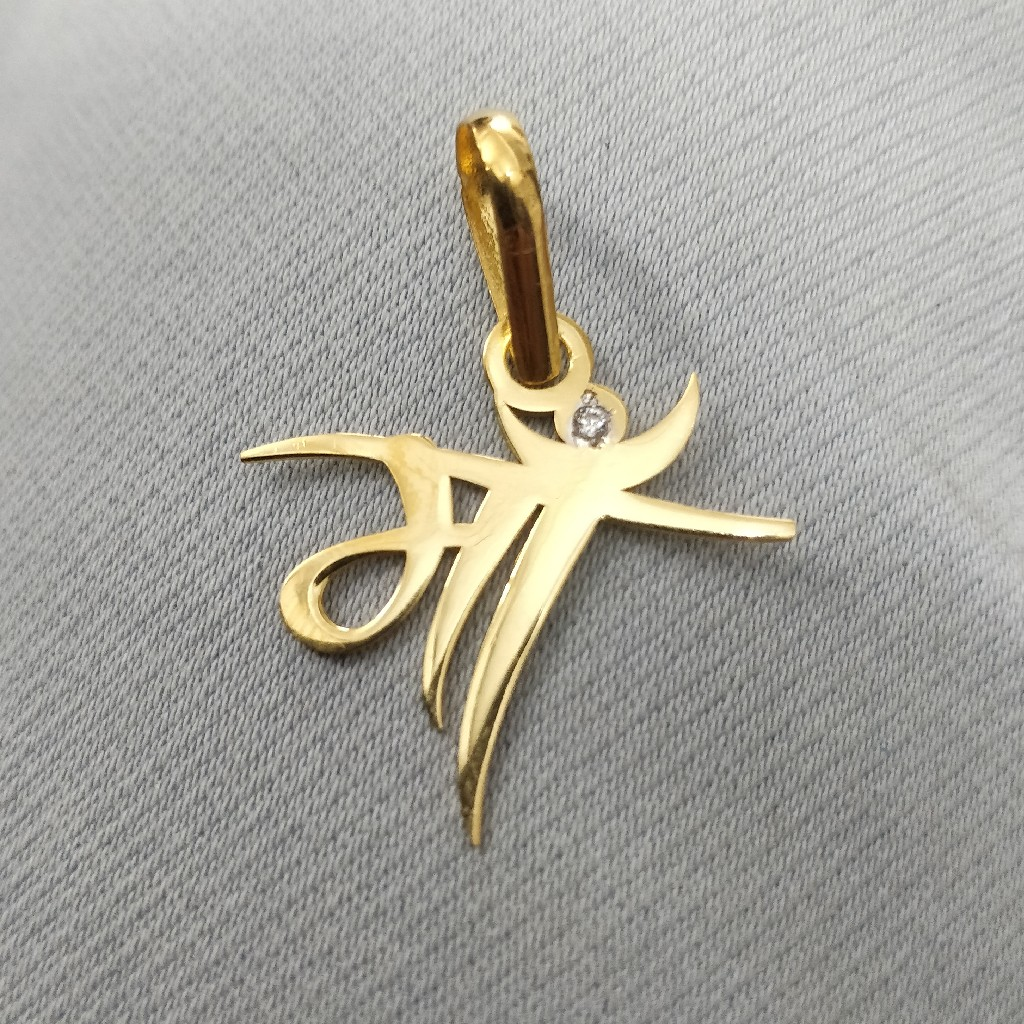 916 Gold Maa Aricuting Pendant