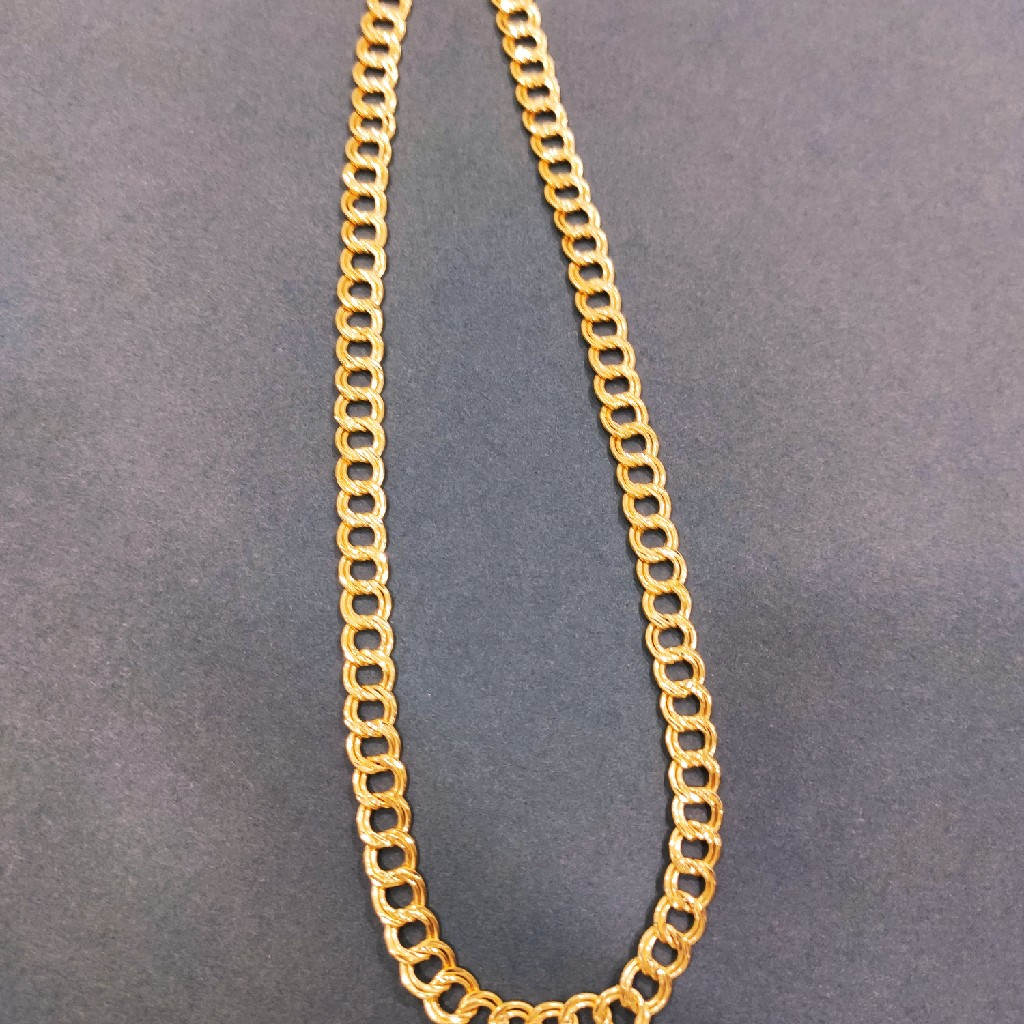 22 carat gold hollow chain