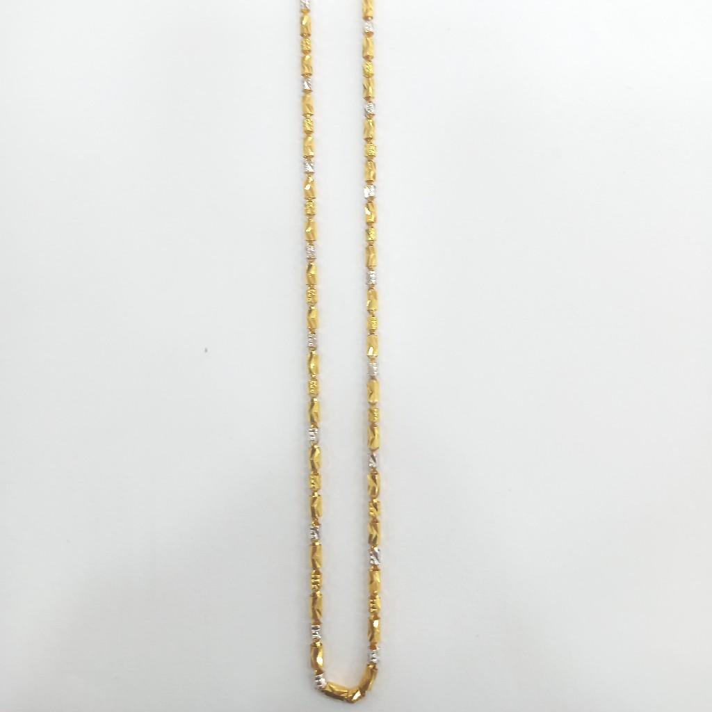 916 22K Fancy chain
