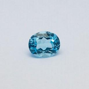 5.125ct oval sky-blue aquamarine