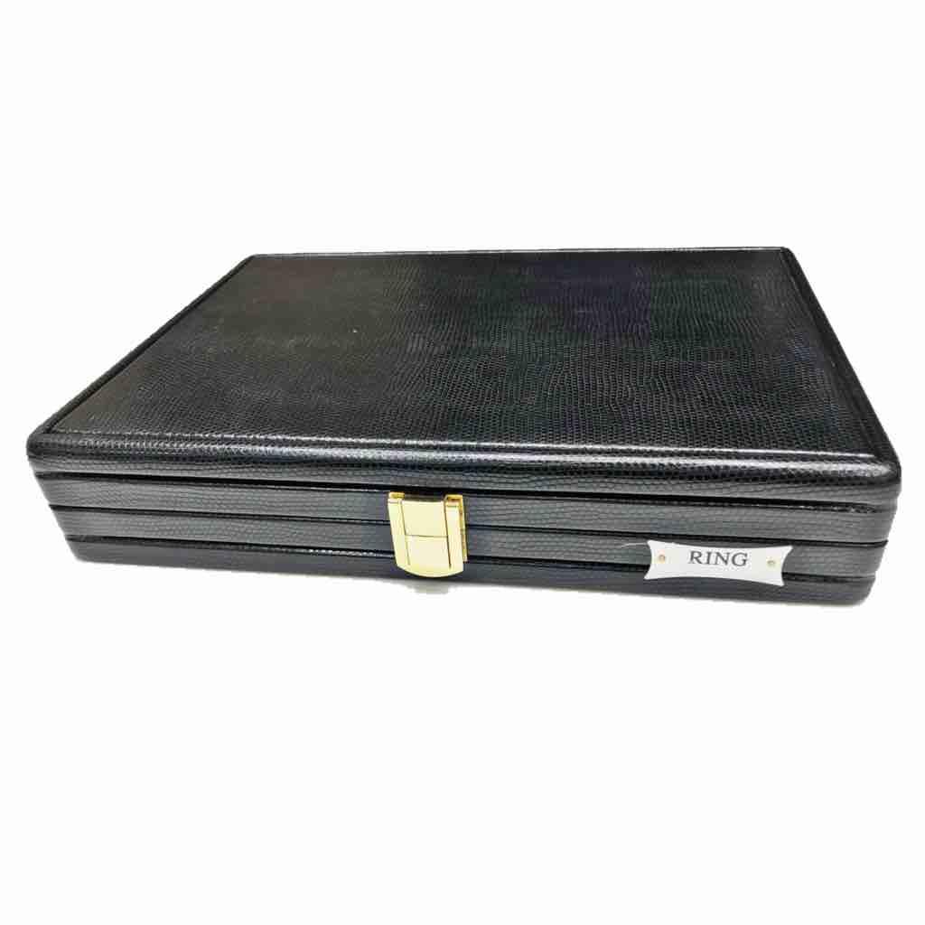 Jewellery black liz line stock box