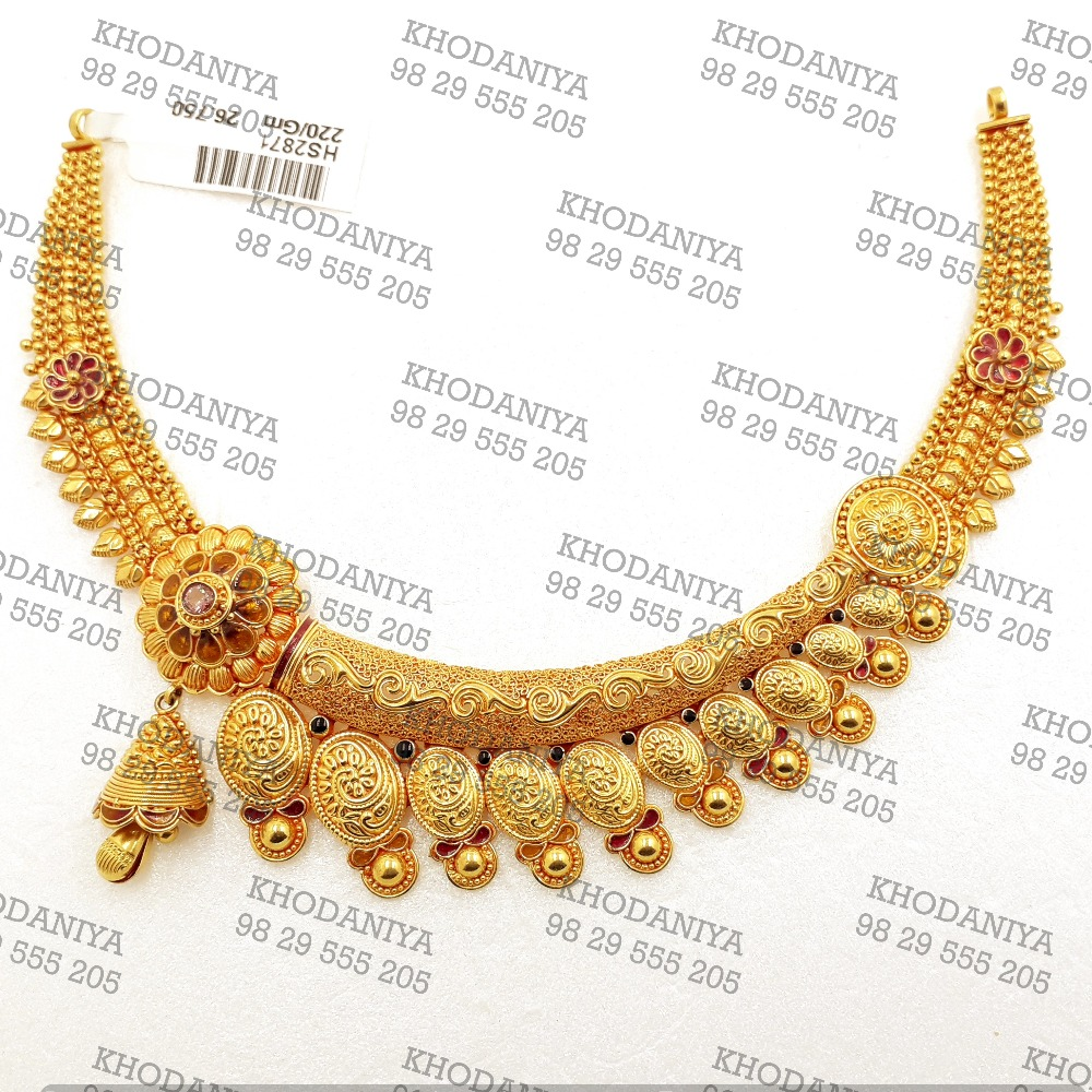 rajasthani har ser necklace geru Designe antique