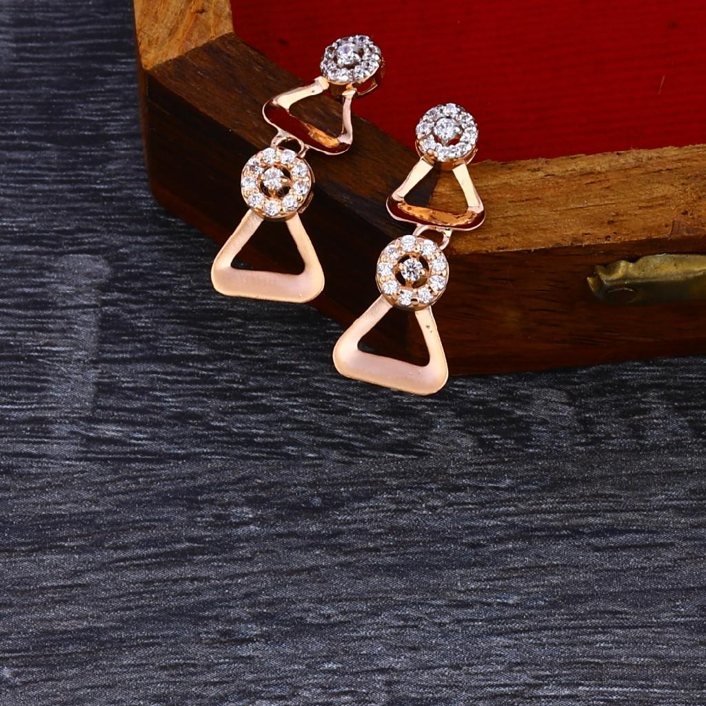 18KT Rose Gold Exclusive Women's Necklace Set RN140