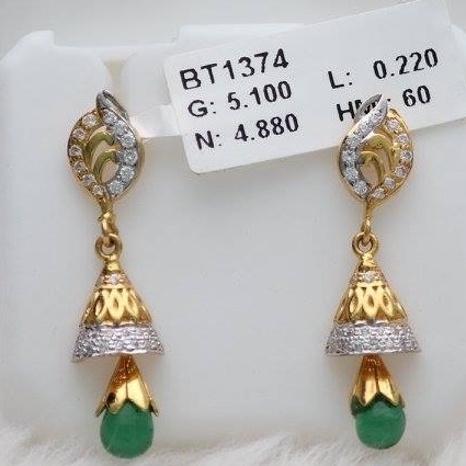 916 Gold diamond Zummer Butti ZB_0003