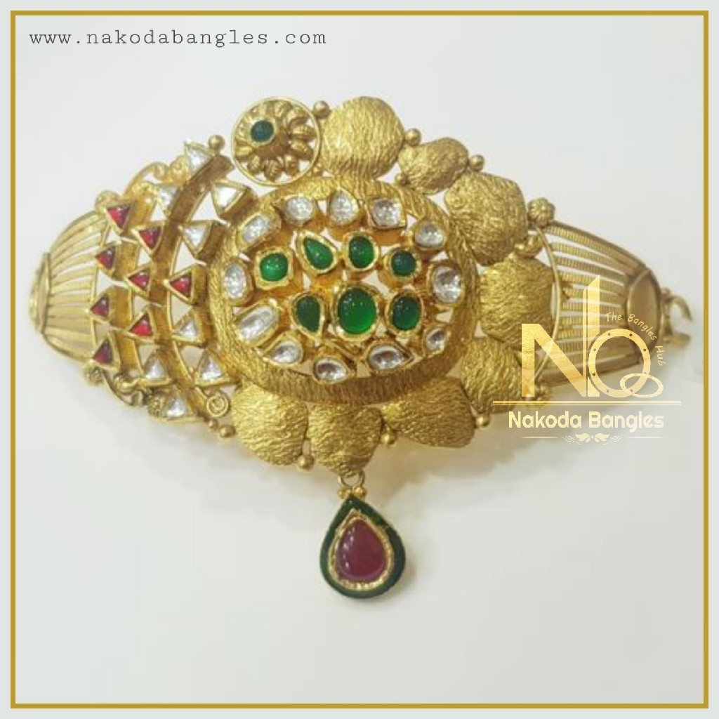 916 Gold Antique Bajubandh NB-355