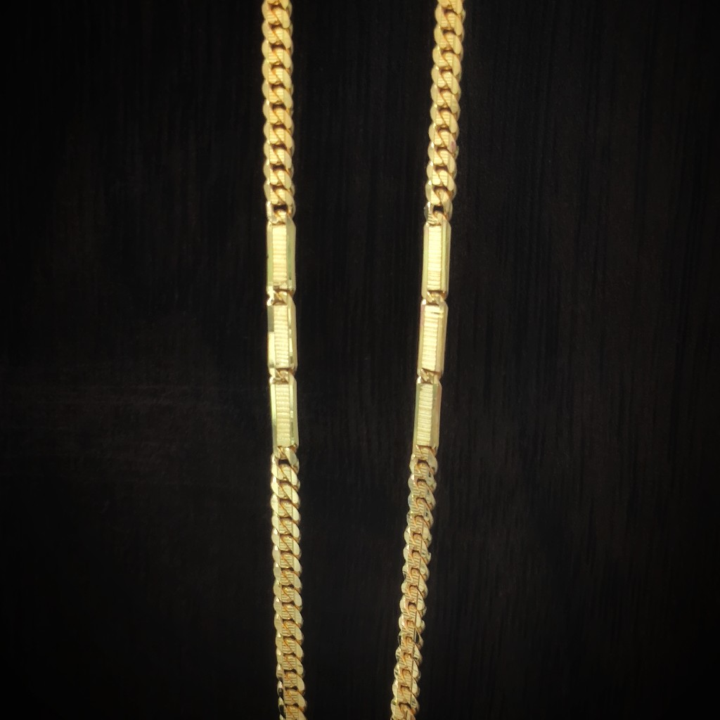 Fancy handmade 916 gold chains