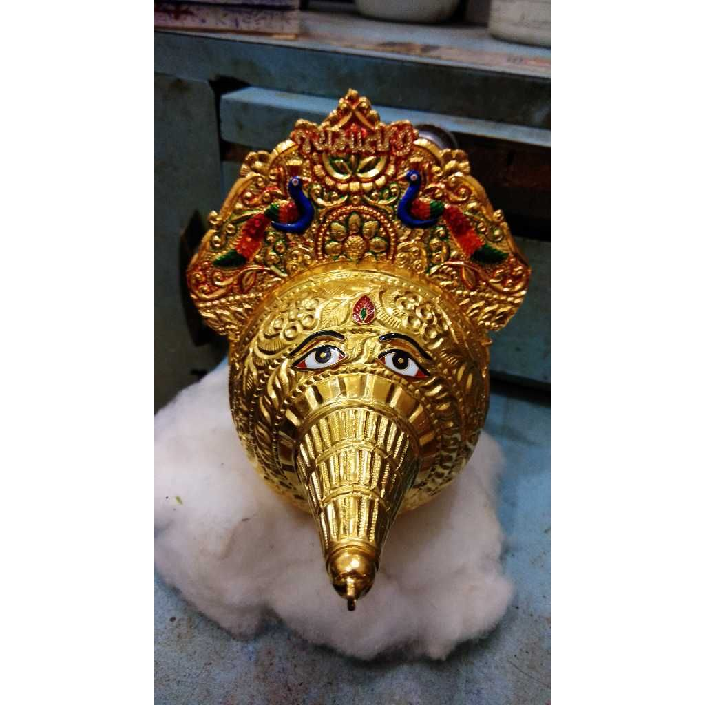 Gold Antique Peacock Design Shreefal