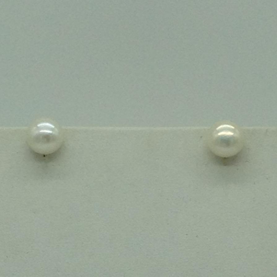 Freshwater WhiteRound 1 Lines Pearls Combination Full Set JPP1042