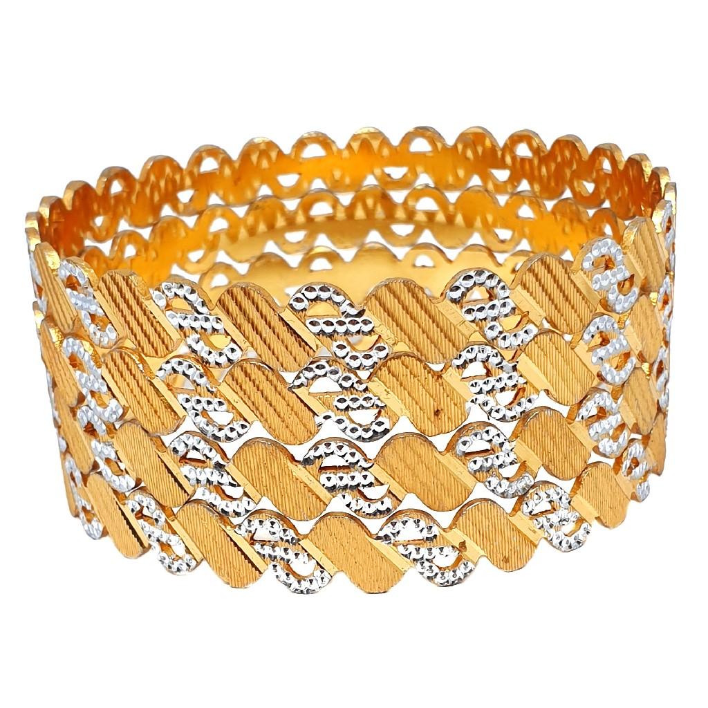 1 gram gold forming bangles mga - bge0384