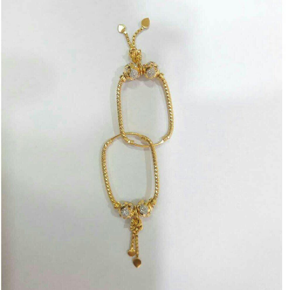 22K / 916 Gold Ladies Indian Cnc Bali