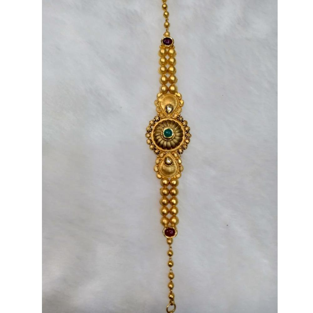 916 gold designer bracelet for women kv-AB003