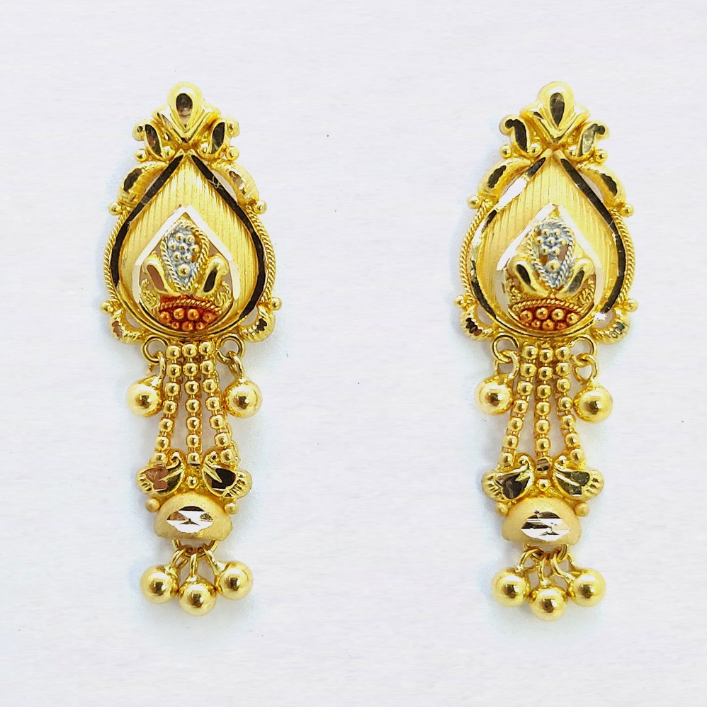 916 Gold Classic latkan Earring SK-E22