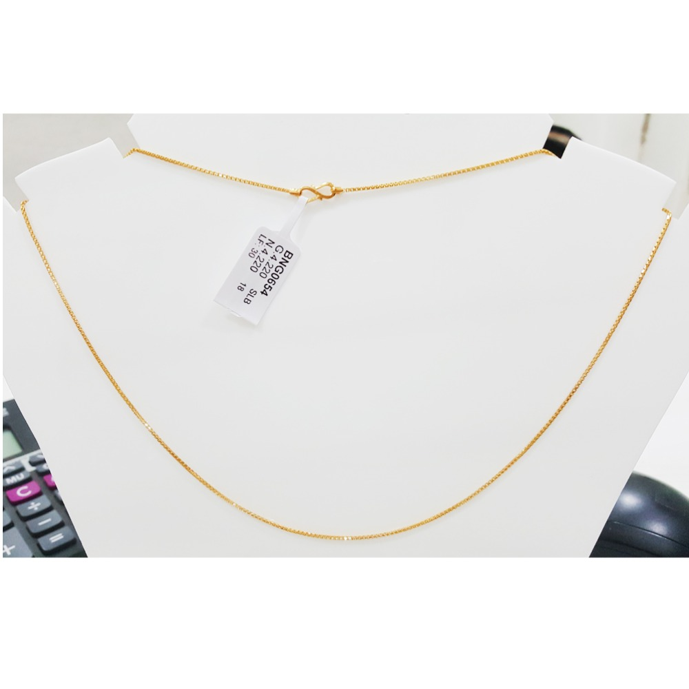 22KT Gold Stylish Bombay Fancy Nice Chain