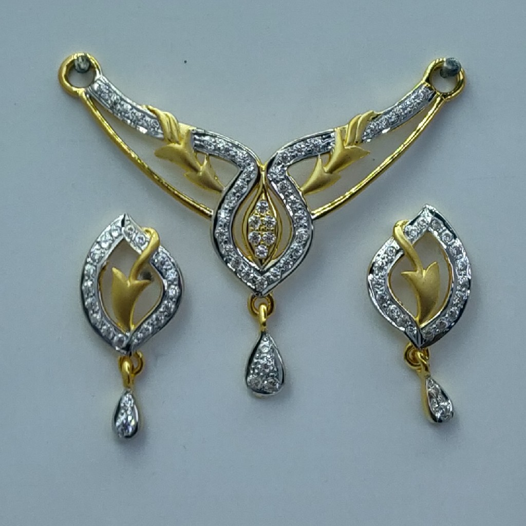 light weight fancy mangalsutra with tops