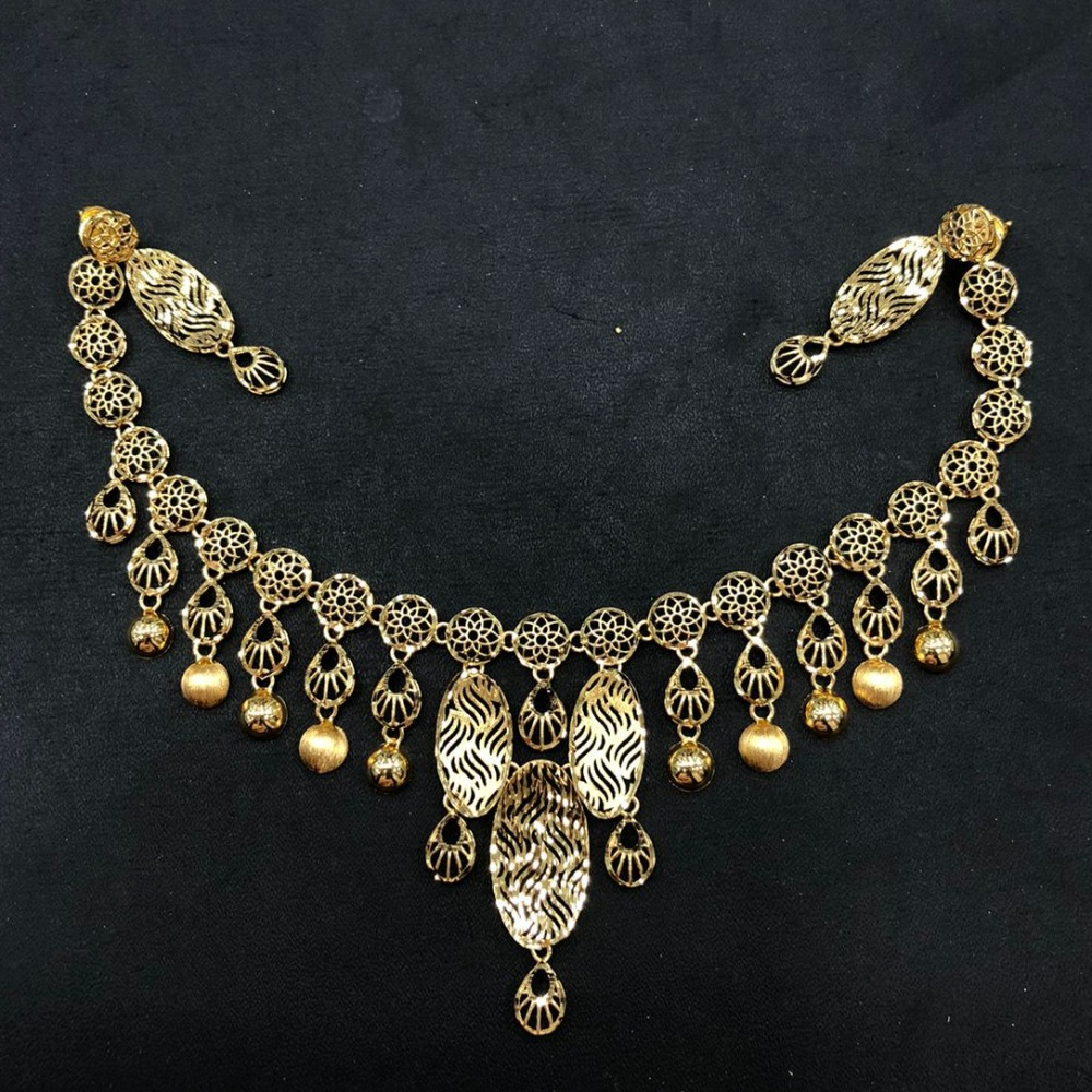 Gold Antique Turkish Necklace