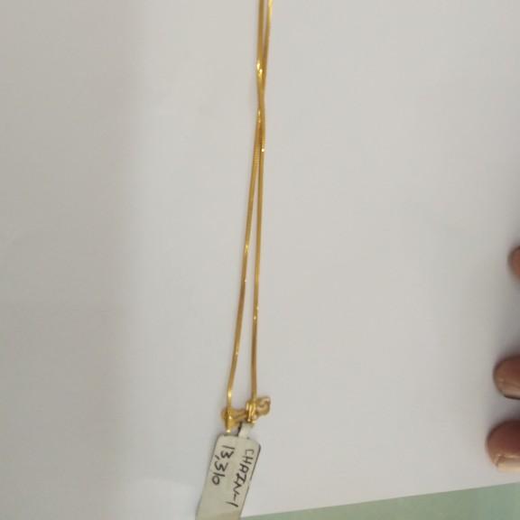 916 Gold Simple chain EG4755