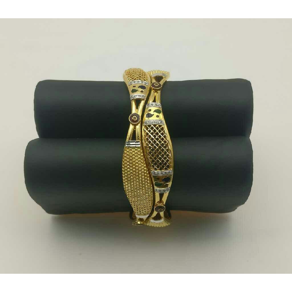 916 Gold Ladies Yellow Kadli