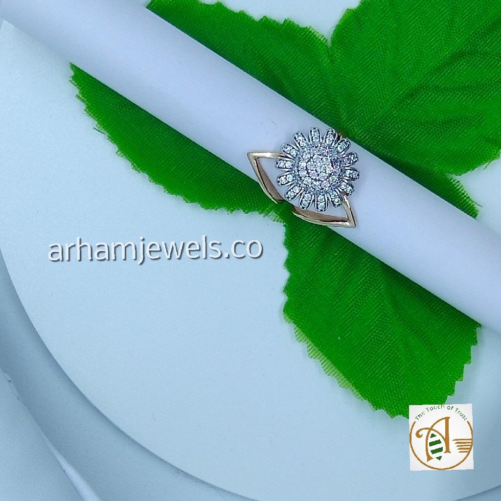 750 rose gold designer ring RGG0167