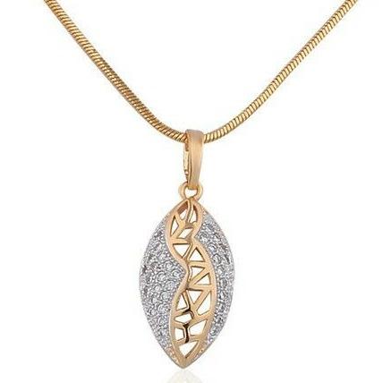 Designer real diamond pendant