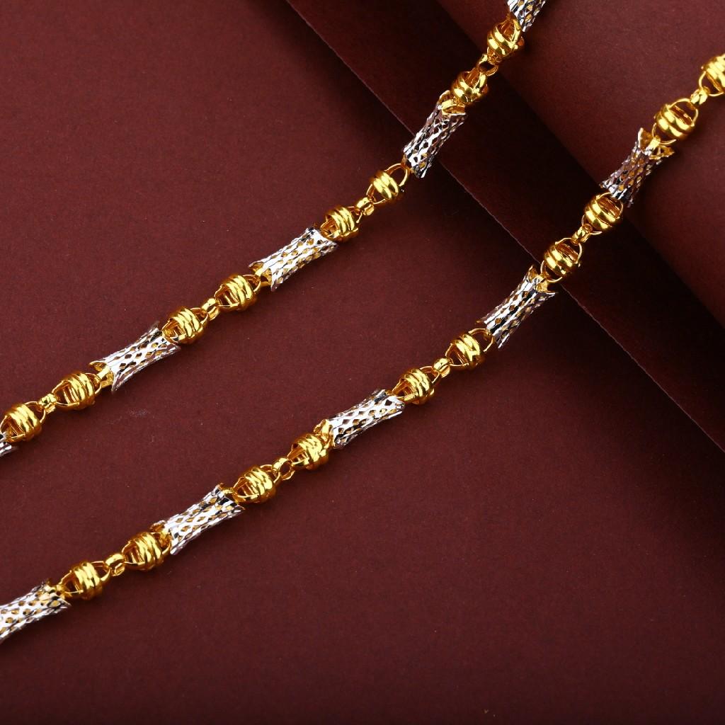 Designer 22k Turkey Gold Chain Mtc43