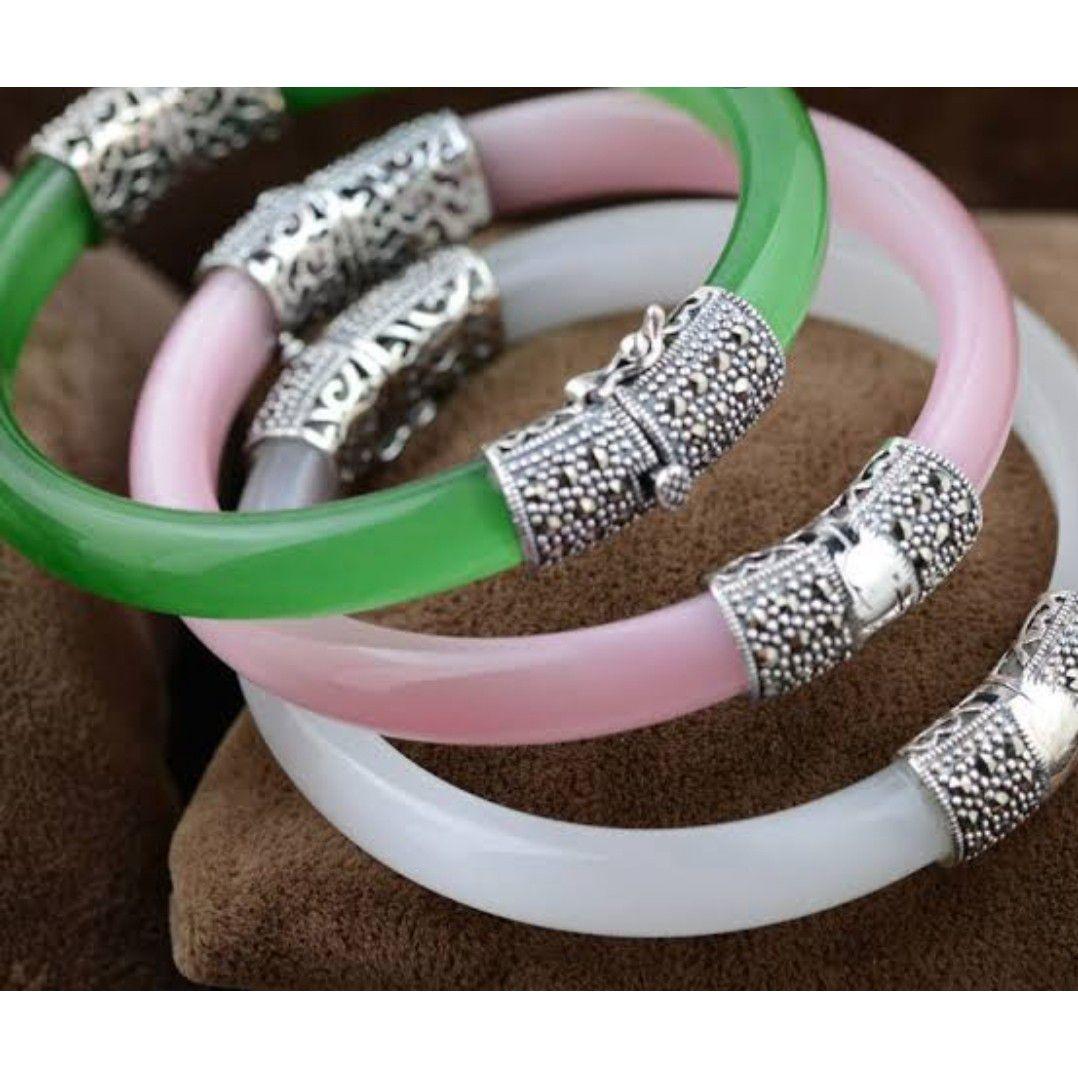 Plastic 92.5 bangles