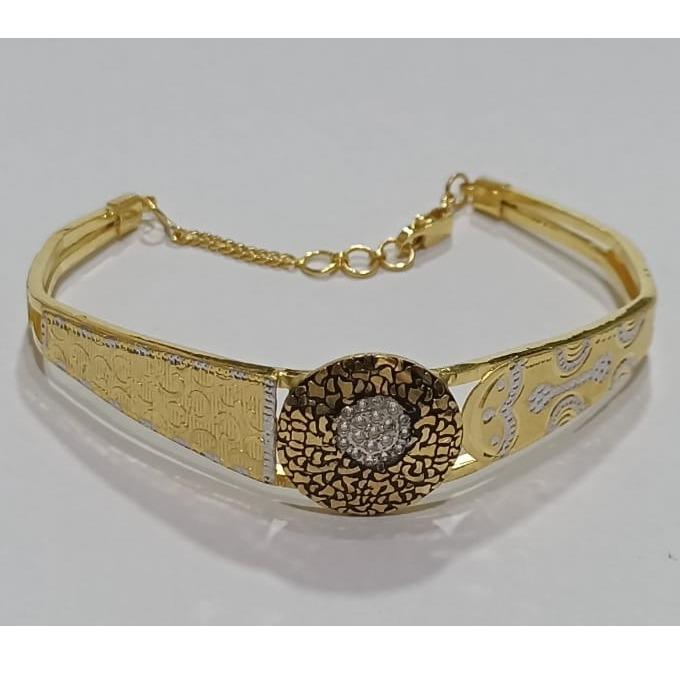 916 gold antique ladies bracelet sg-b06