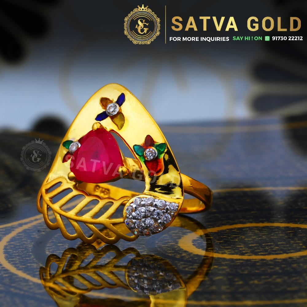 916 gold ring sgr-0048