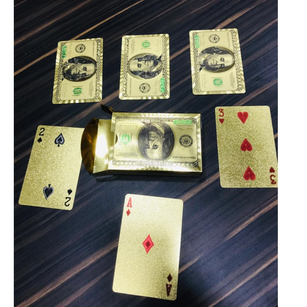 999 Gold planting playing Cards RH-PC12