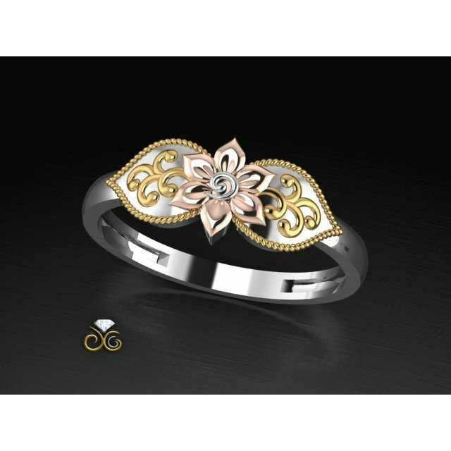 Handmade Machine Nakshi Ring Ms-2485