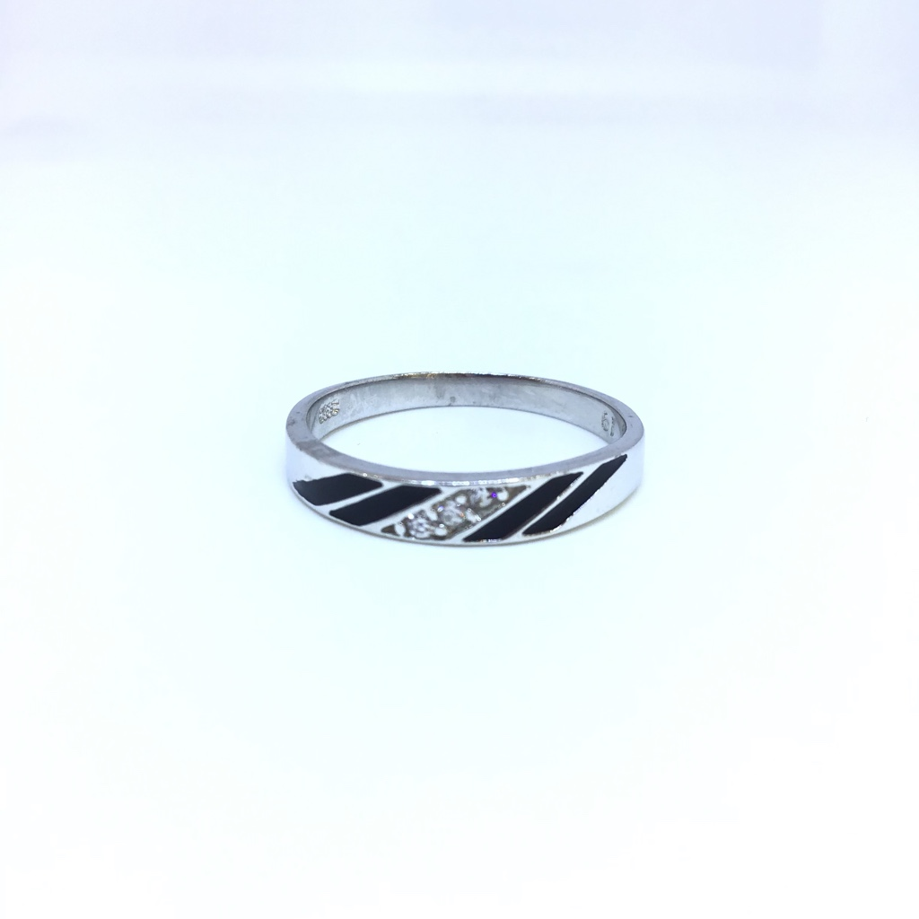 925 STERLING SILVER FANCY BAND FOR LADIES