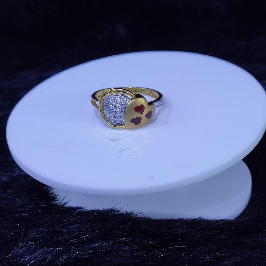 22KT/916 Yello Gold Vanoch  Ring For Women