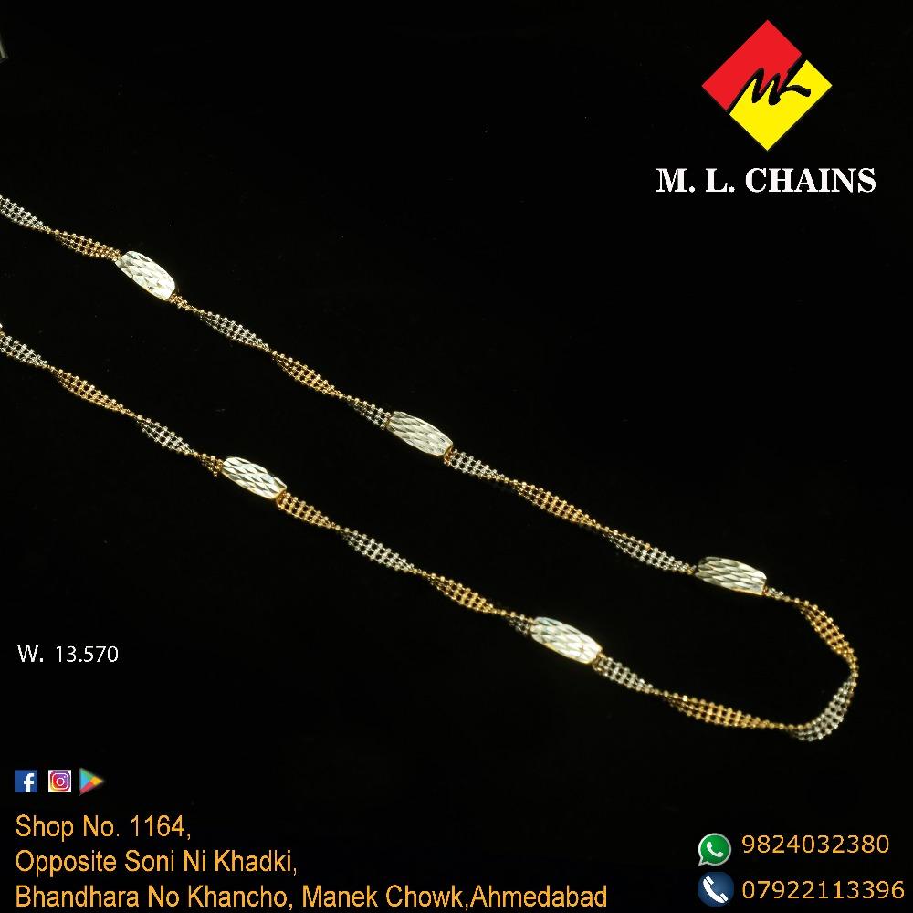 916 Gold Stylish Chain ML-C18