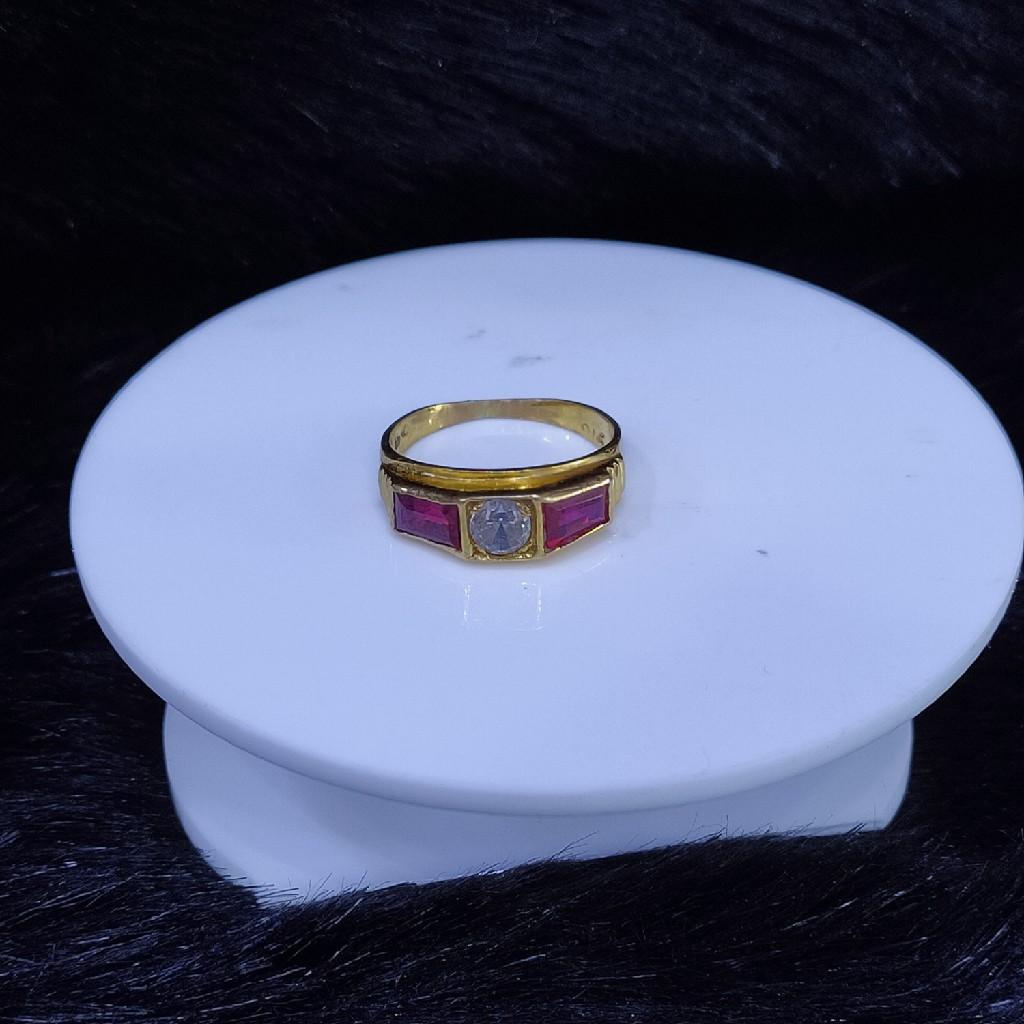 22KT/916 Yello Gold Ahna Ring For Women