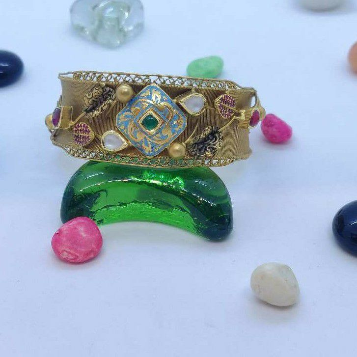 916 Gold Antique Bracelet