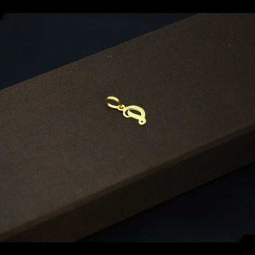 22 K Gold Pendant. nj-p01216