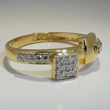 916 Gold fancy ladies ring MJ-VC3416