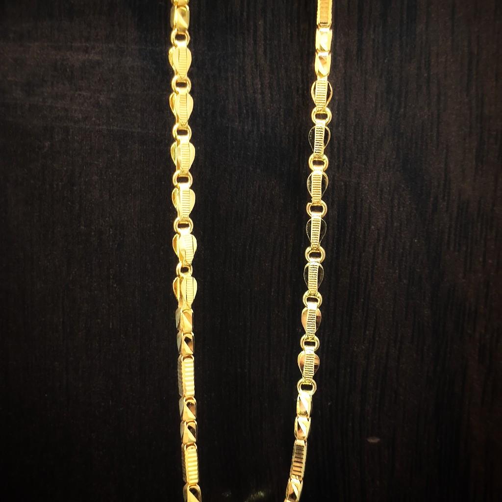 fancy light weight 22 Caret hand made Chain