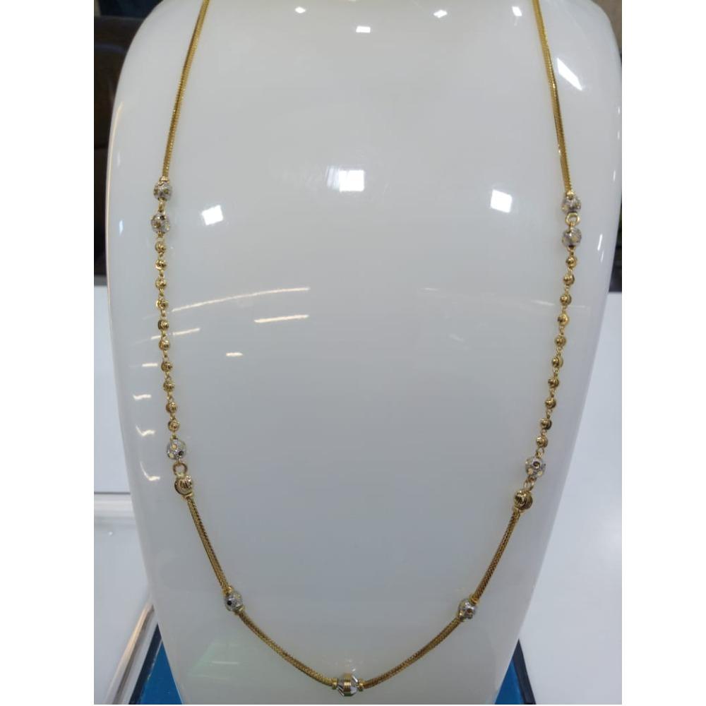 916 Gold Fancy Ball Chain SVJ-C007