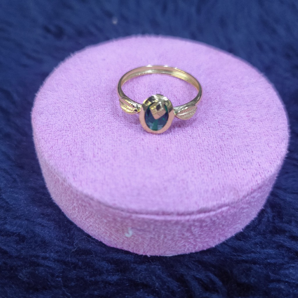 18KT/750 Yellow Gold Daily Wear Tania Ring LR-623