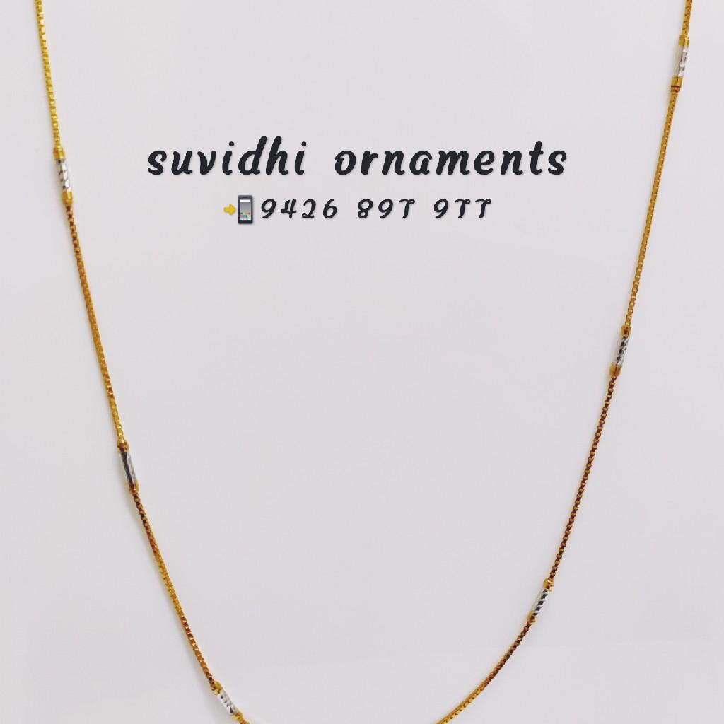 916 gold fancy chain
