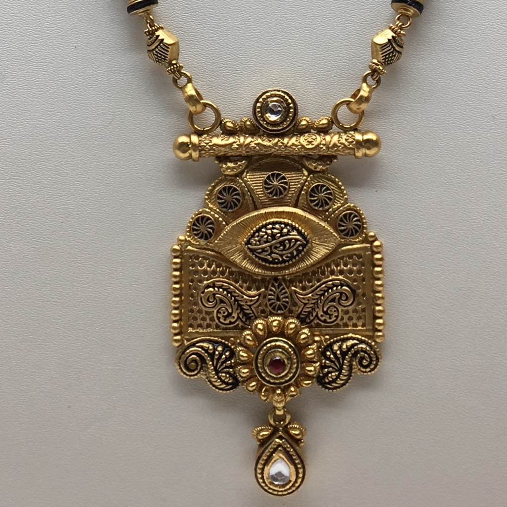 916 Gold Antique Bridal jewellery Mangalsutra