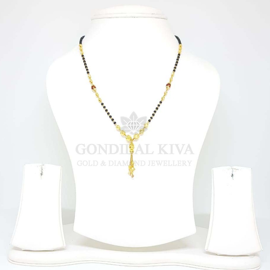 20kt gold mangalsutra gms59