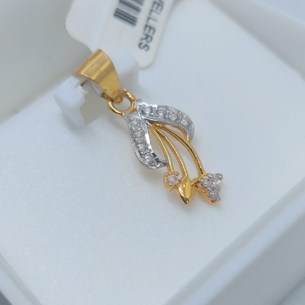 22ct fancy pendant