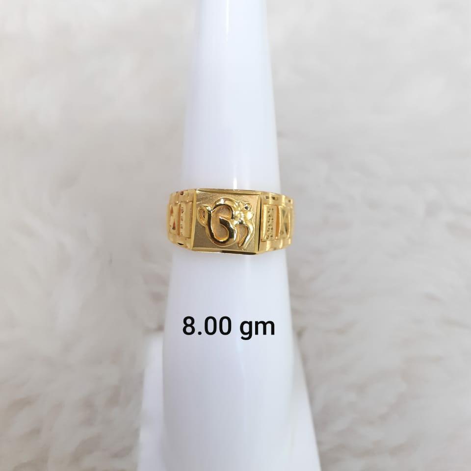 916 plain gent's ring