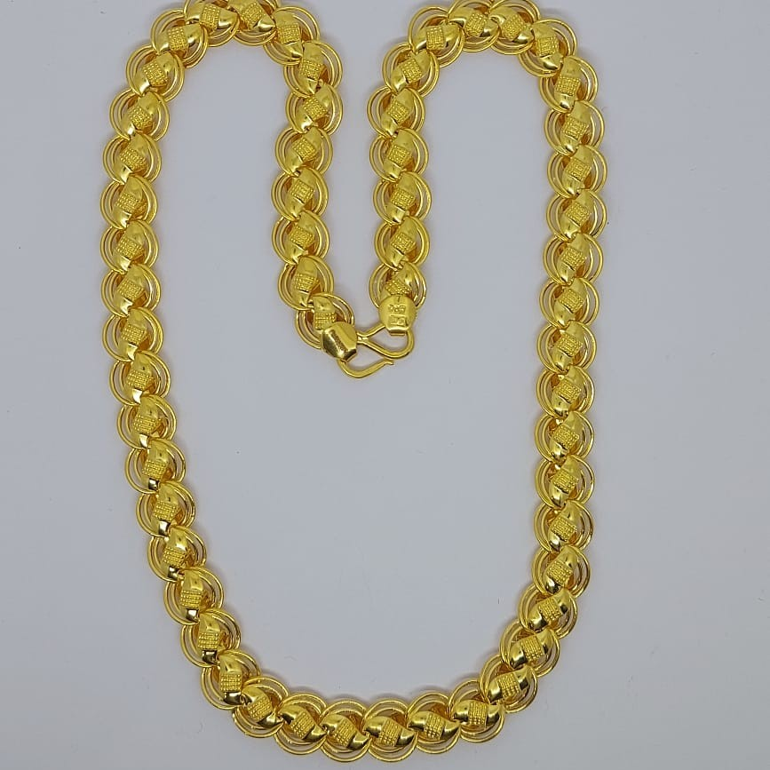 916 Gold Fancy Gent's Chain