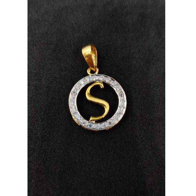 916 men's letter pendant