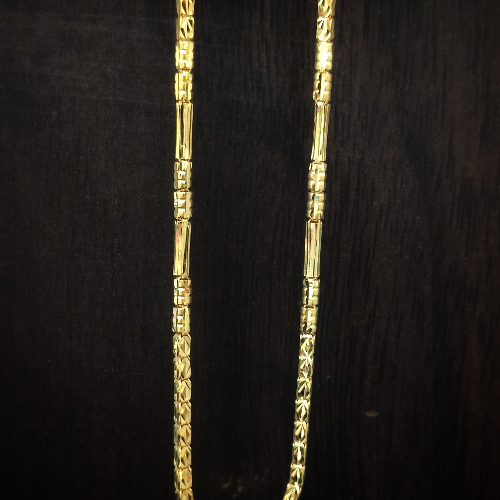 fancy 22 Caret gold handmade chain