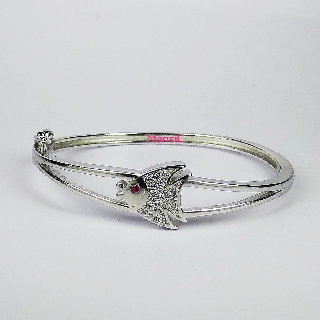 92.5 sterling silver Baby kada bracelet ML-113